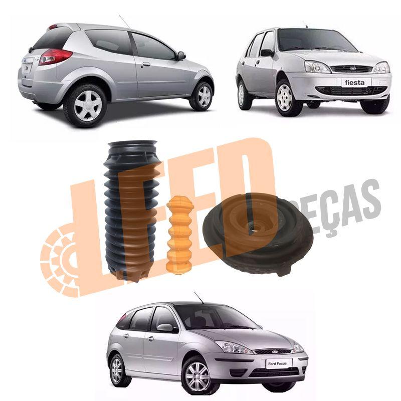 Kit Completo Amortecedor Traseiro Fiesta 1996 1997 1998 1999 2000 2001 2002 Focus 1.8/2.0 2001 2002 2003 2004 2005 2006 2007 Ka 1.0 1.6 1996 1997 1998 1999 2000 2001 2002 2003 2004 2005 2006 2007 2008