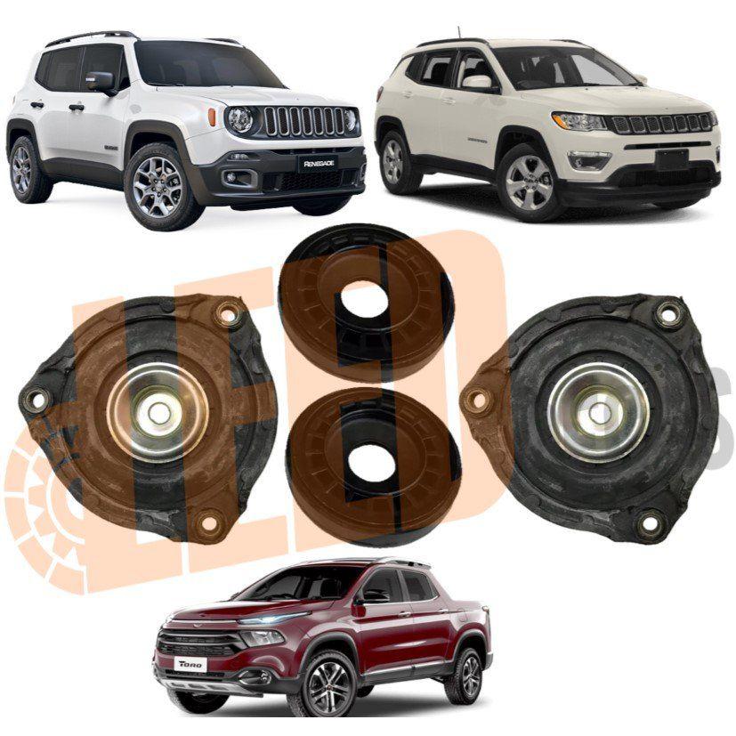 Kit Coxim Amortecedor Dianteiro Jeep Renegade Compass Toro