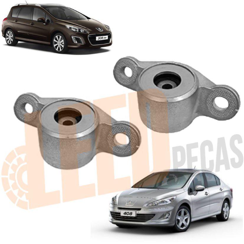 Kit Coxim Amortecedor Traseiro Peugeot 308 408 2011 - 2017