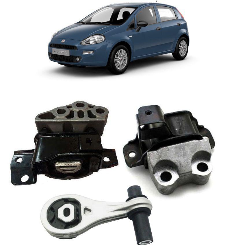 Kit Coxim Calco Motor Fiat Punto 1.4 2008 2009 2010 2011 2012