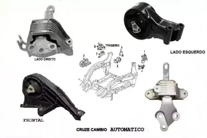 KIT COXIM MOTOR CAMBIO CRUZE AUTOMATICO 2011 2012 2013 2014 2015 2016