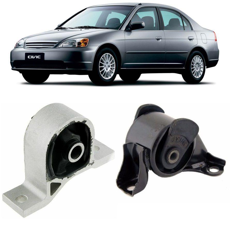 Kit Coxim Frontal Direito Motor Civic 2001 2002 2004 2005