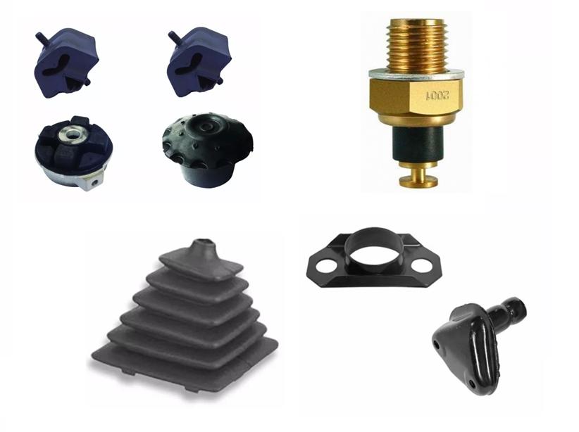 Kit Coxim Motor Câmbio Sensor Coifa Suporte Gol G1