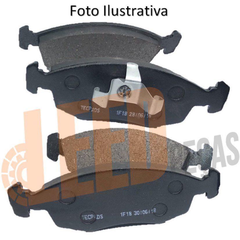 Kit Jogo Pastilha de Freio Dianteira Honda New Civic 2007 2008 2009 2010 2011 2012 Civic 2013 2014 2015 2016