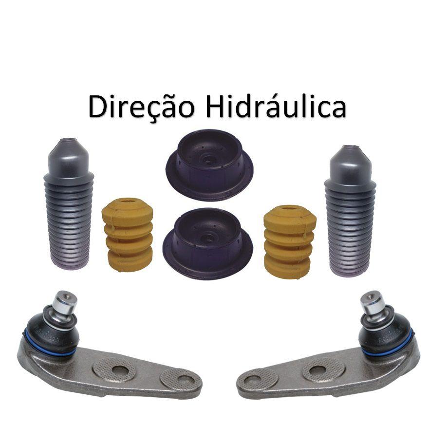 Kit Par Pivô Coxim Amortecedor Gol Saveiro Parati G3 G4
