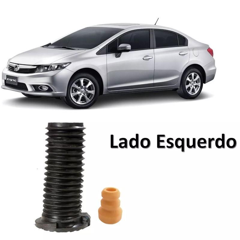 Kit Parcial Amortecedor Dianteiro Esquerdo New Civic 2007 2008 2009 2010 2011