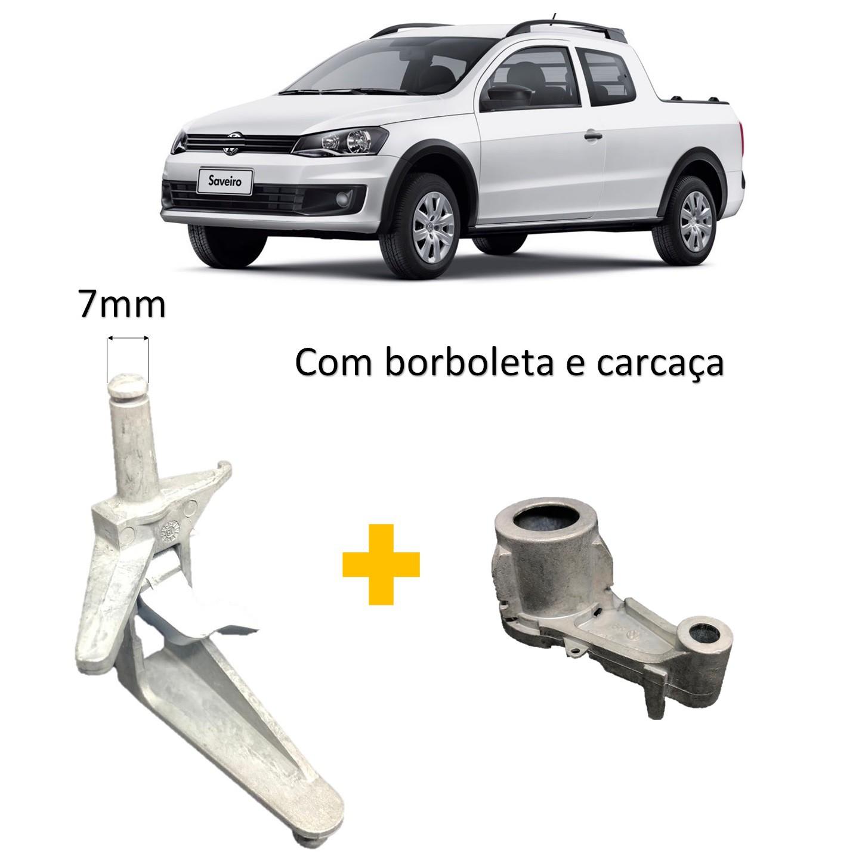 Kit Reparo Excêntrico Tampa Traseira Saveiro G5 Com Borboleta