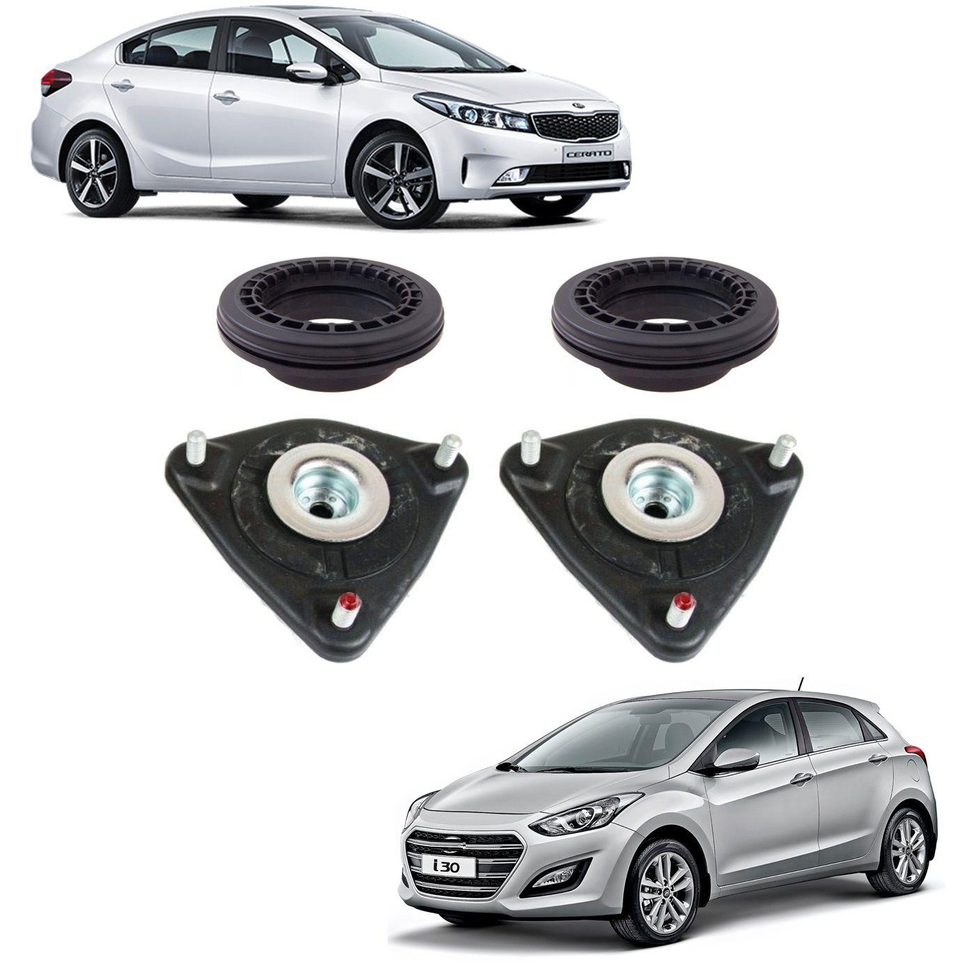 Kit Rolamento Coxim Amortecedor Dianteiro Hyundai I30 2015 2016 Kia Cerato 2015 2016