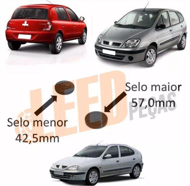 Kit Selos Traseiros Cabeçote Motor Clio Megane Scenic 1.6 2.0