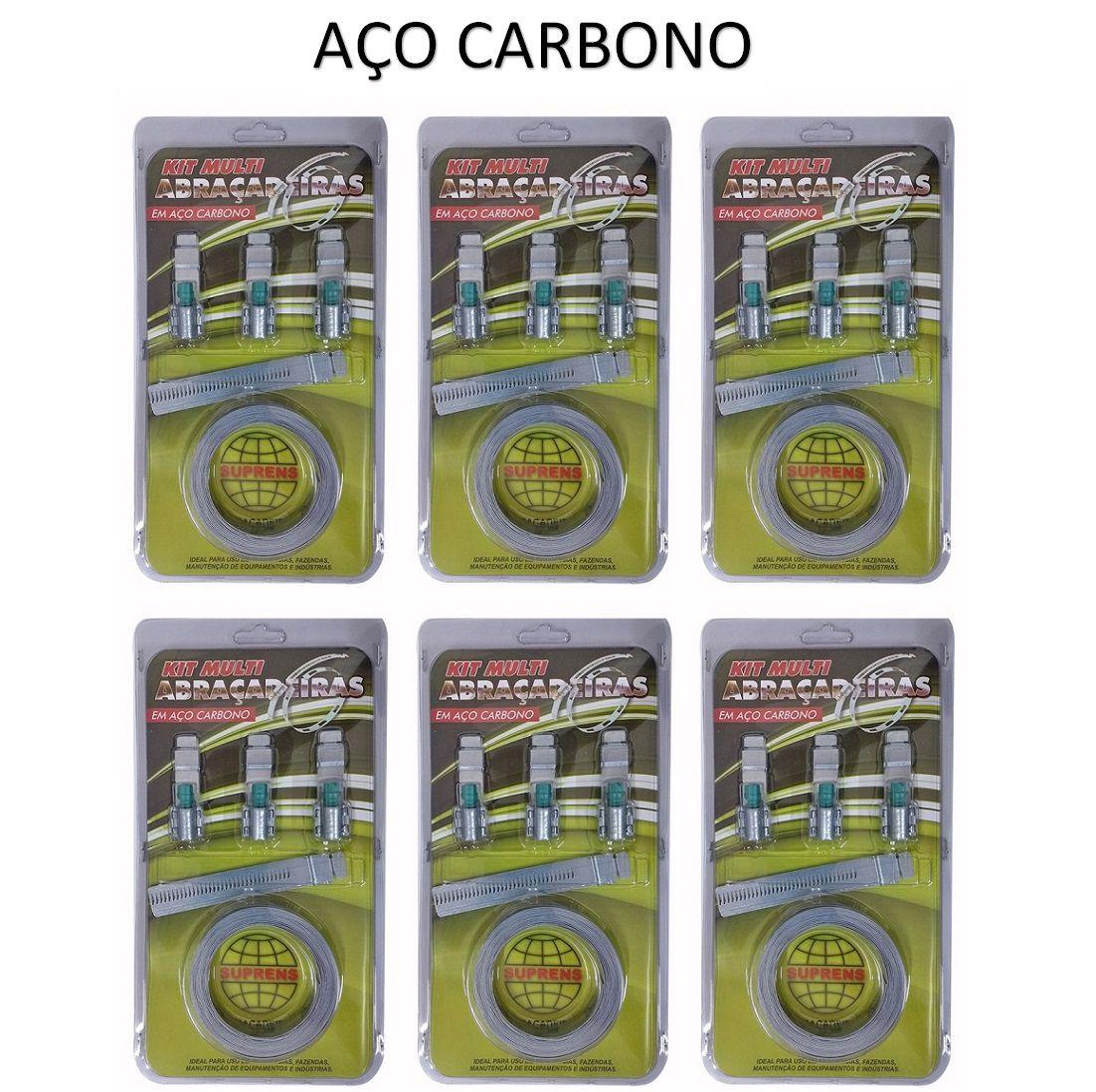 KSC Kit Completo Totalmente em Aço Carbono Fita 14,5mm
