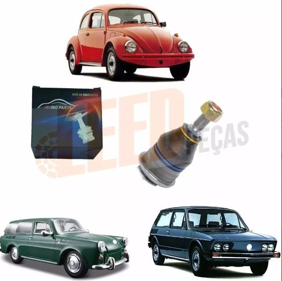 PIVO INF. PINO 16MM FUSCA 1300 82/96 BRASILIA 73/82 VARIANT 69/77