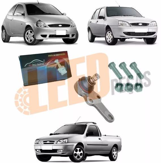 Pivo Pino Esquerdo Direito Ka 1996 a 2008 Fiesta 1996 a 2007 Courier 1997 a 2011