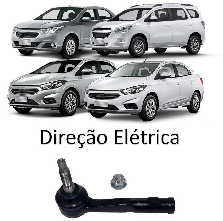 Ponteira Terminal Direção Direito Onix 2017 2018 2019 2020 Novo Prisma 2017 2018 2019 2020 Cobalt 2017 2018 2019 2020 Spin 2017 2018 2019 2020