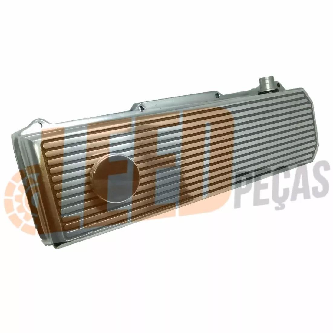 TAMPA COMANDO DE VALVULA (PRETA FOSCA) MOTOR AP VW 1.6 1.8 2.0 8V