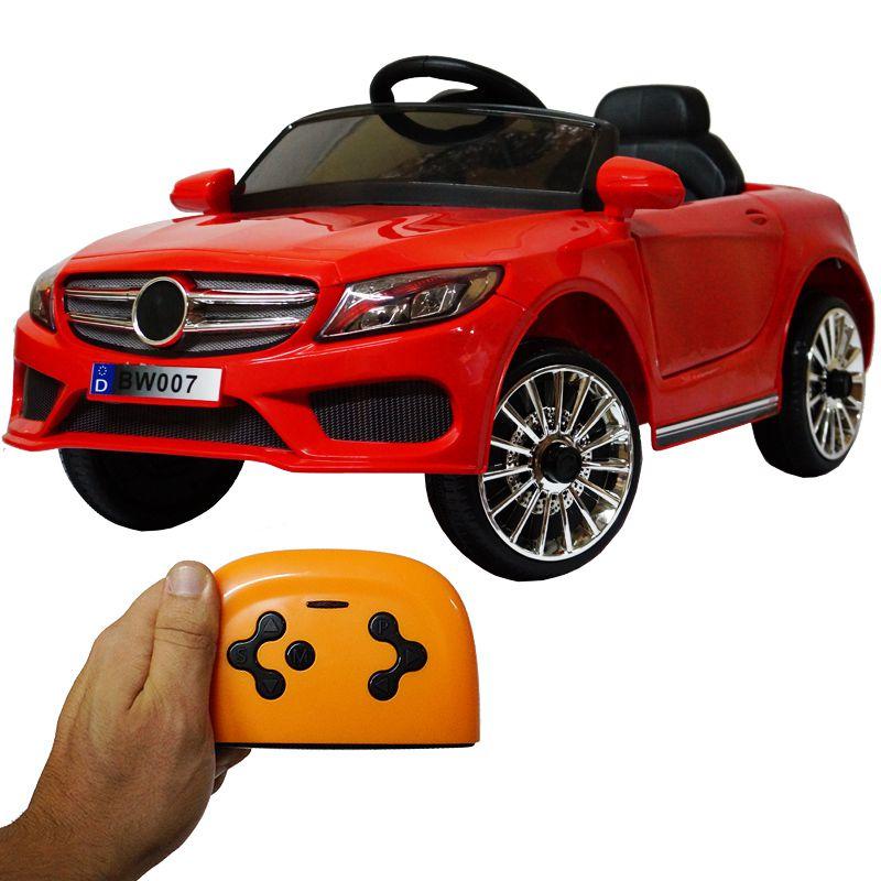7fe564f3f Mini Carro Elétrico Infantil Criança 6V com Controle Remoto Importway  Mercedes BW-007 Bivolt - VERME - MadeiraMadeira