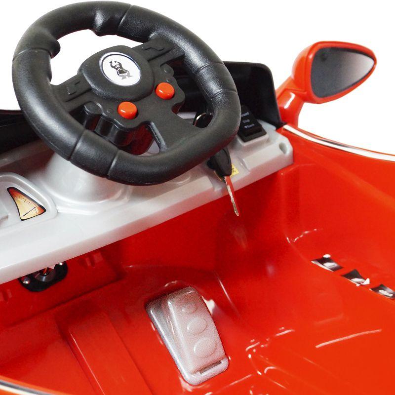 e9059383f Mini Carro Elétrico Infantil Criança Bateria 6V Importway Ferrari Vermelha  BW005-VM Bivolt - TOP FIVE COMERCIAL