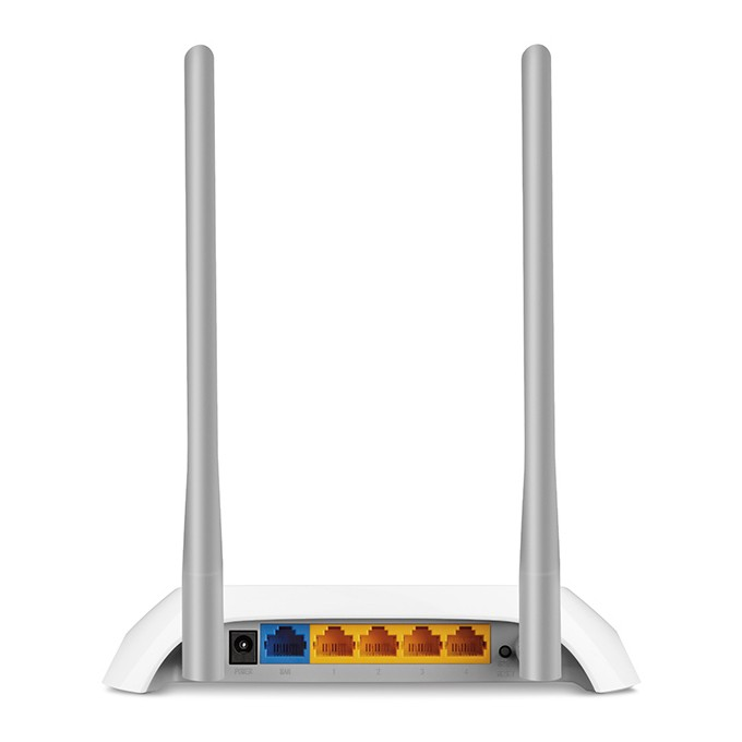 a58c37b70 Roteador Sinal Wireless Wifi 300 Mbps Tp Link TL-WR840N 2 Antenas 5Dbi - TOP  FIVE COMERCIAL