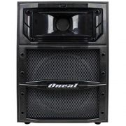 Caixa Oneal Ativa Opb1312x Pt 120W Rms