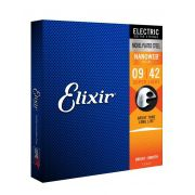 Encordoamento Elixir Guitarra .009 Nanoweb Super Light