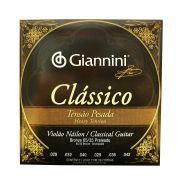 Encordoamento para Violao Nylon Giannini Classico Tensao Pesada Genwpa