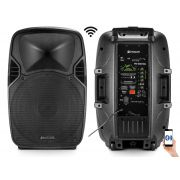 Kit 2 Caixa De Som Ativa Sem Fio Frahm Pw600 Wireless 1200w Rms