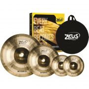 Kit De Prato Zeus B20 Hybrid Set C 14 16 20 Com Bag