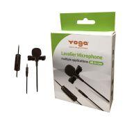 Microfone De Lapela Yoga Ytm012