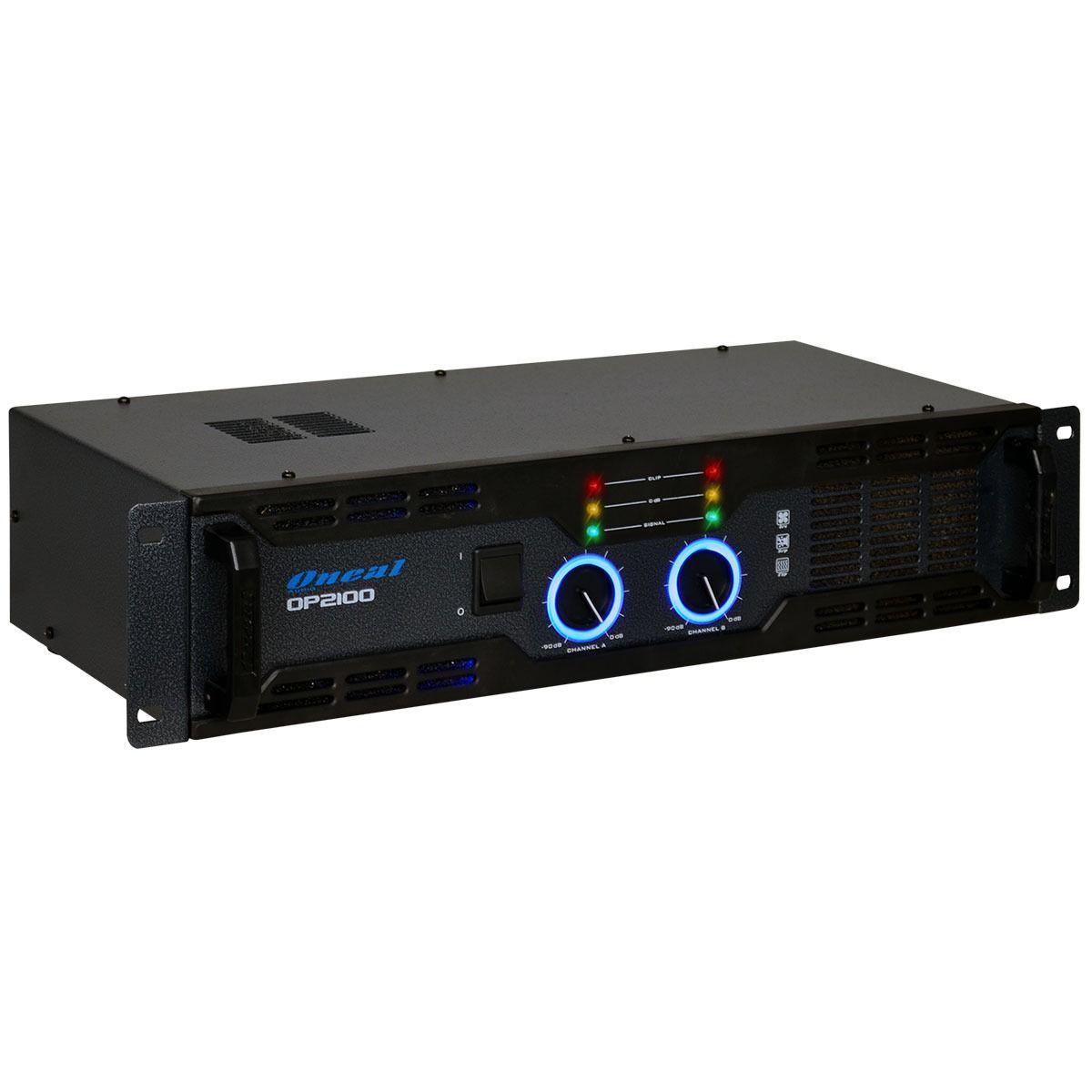 Amplificador De Potencia Oneal Op2100 290W Rms