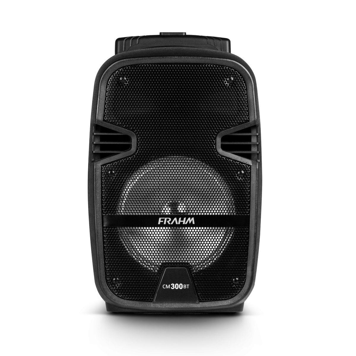 Caixa De Som Ativa Frahm Cm300Bt Bluetooth Com Bateria