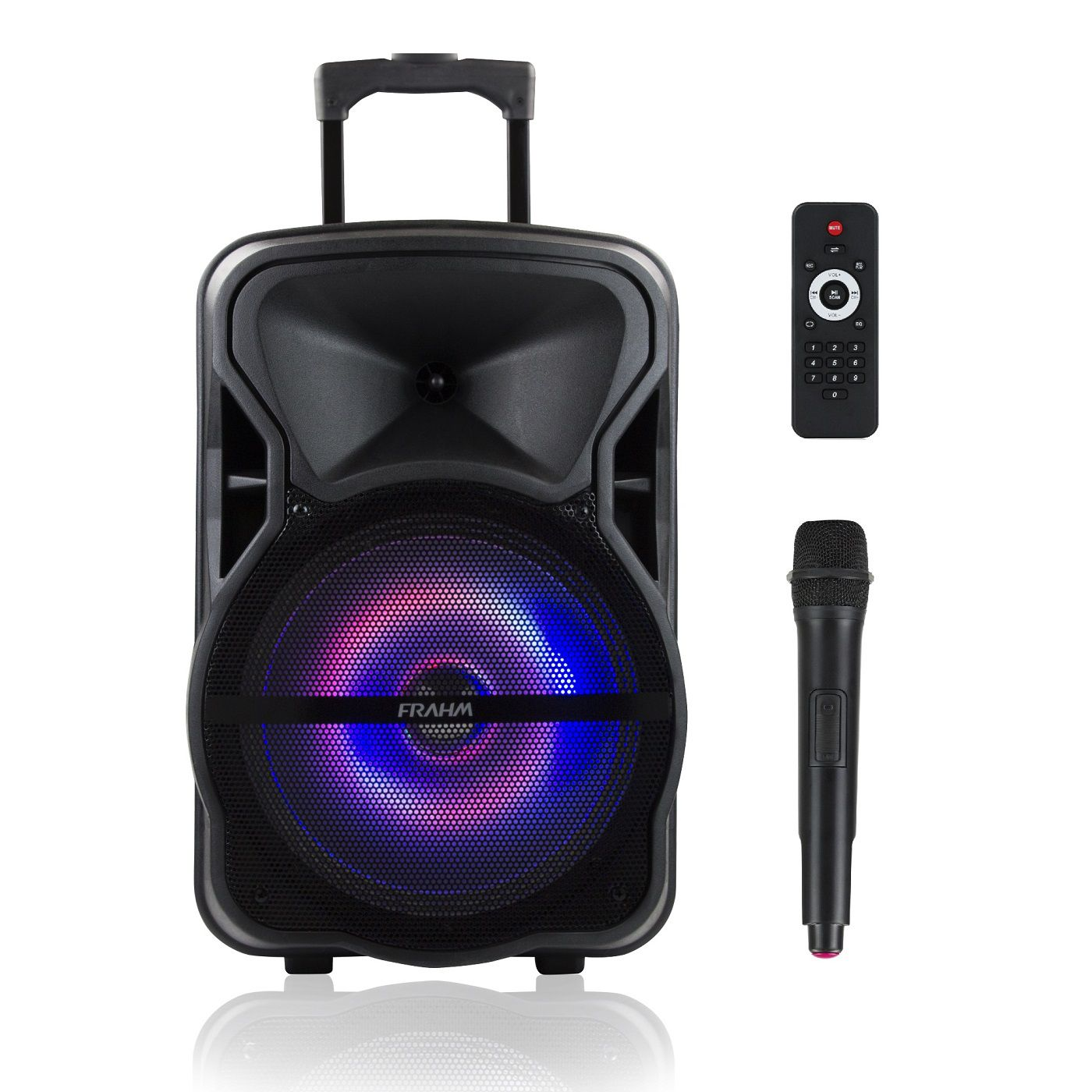 Caixa De Som Ativa Frahm Cm600Bt Bluetooth Com Bateria