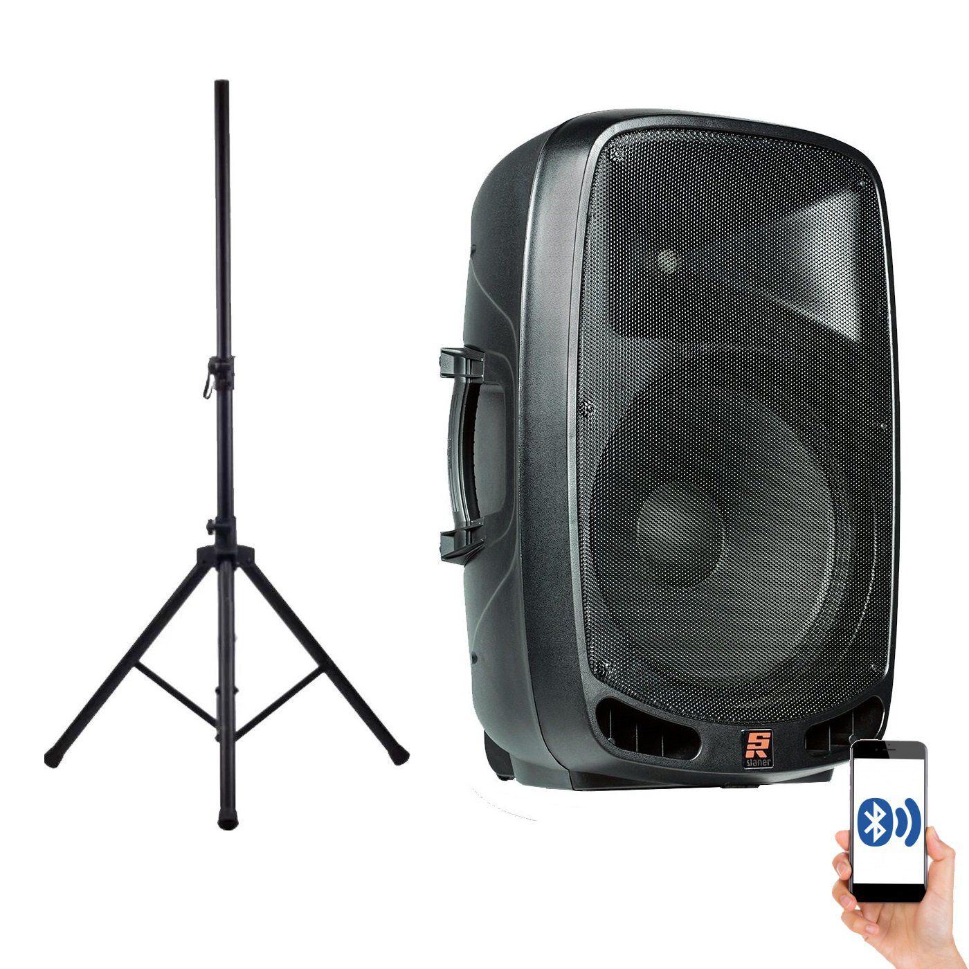 Caixa De Som Ativa Staner Bluetooth Ps1501 200W + Tripe