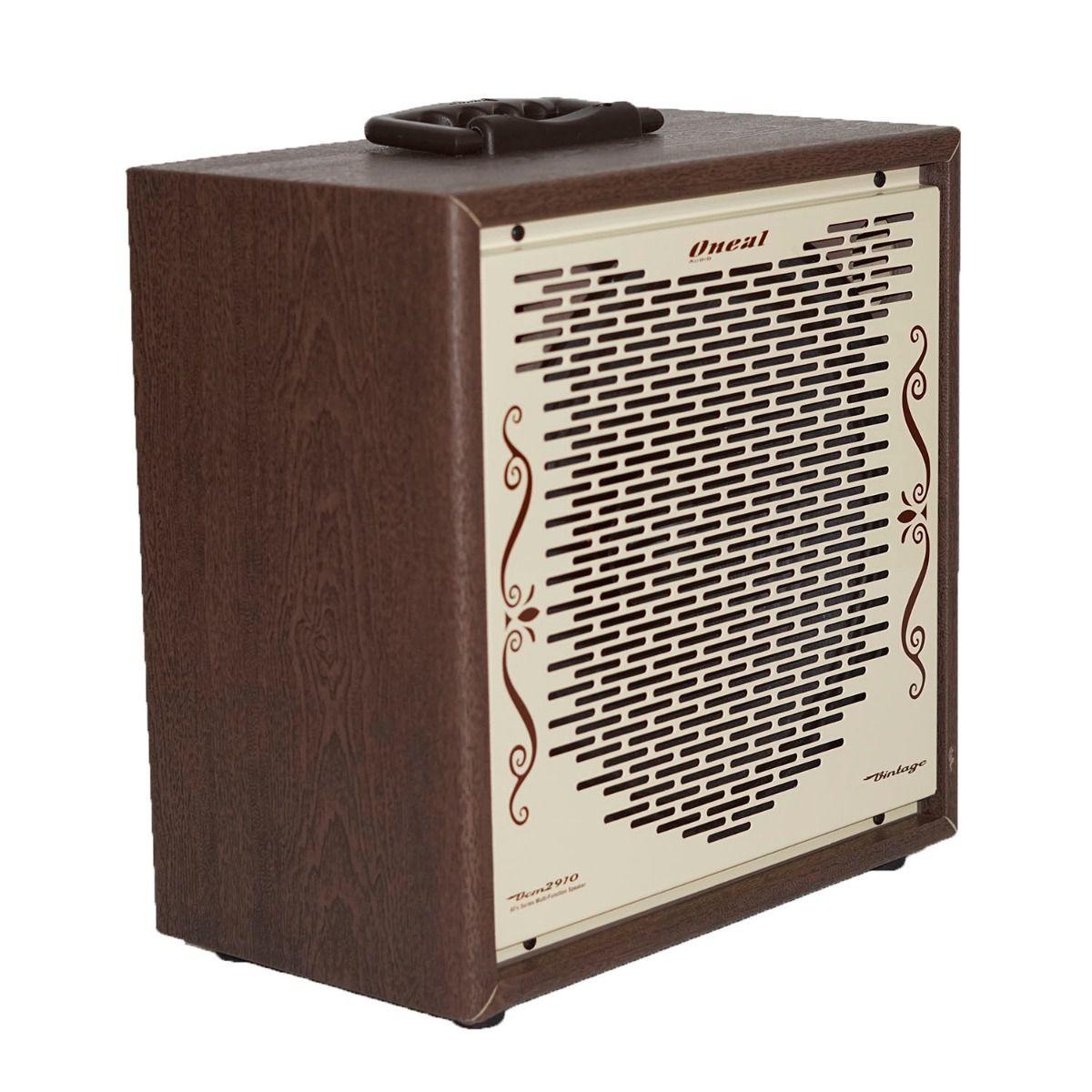 Caixa De Som Multiuso Oneal Ocm2910B 60W Rms Com Bateria