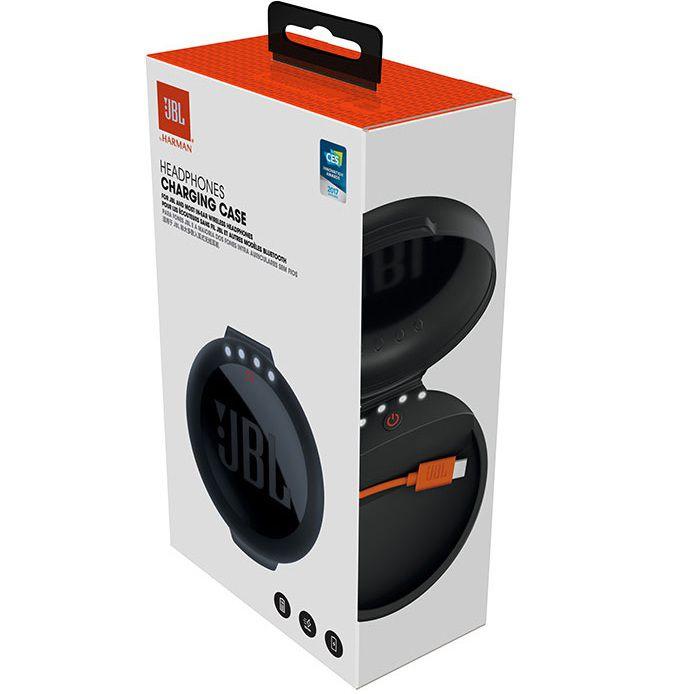 Fone De Ouvido Jbl Bluetooth Tune 110bt Preto + Case Carregador Jbl