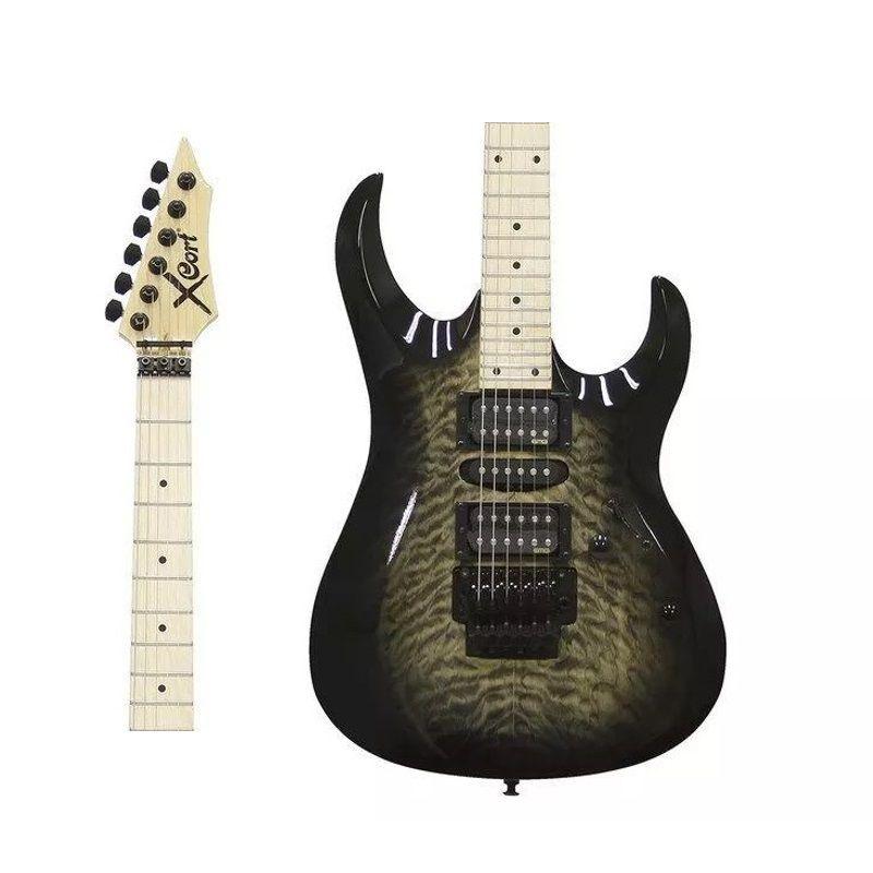 Guitarra Cort Eletrica  X11Qm Gb