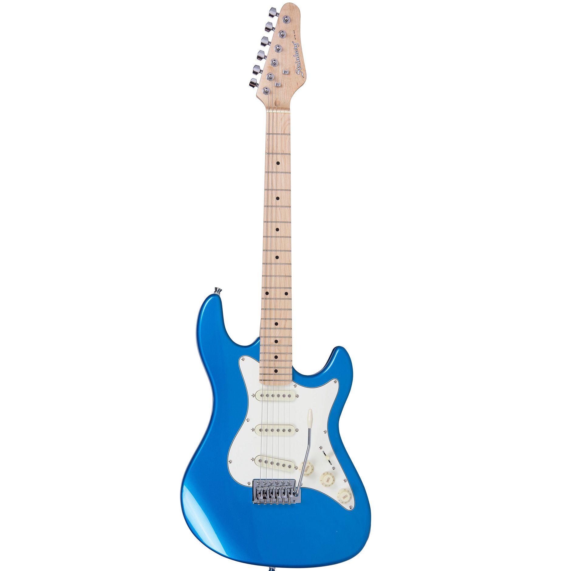Guitarra Strinberg Stratocaster Sts100 Mbl