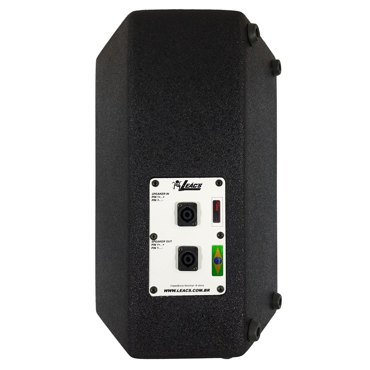 Kit Caixa de Som Ativa Passiva Leacs Fit550a Fit550 400w Rms Falante 15