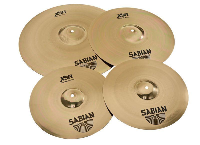 Kit De Prato Sabian Xsr5005B Liga B20 Set 14 16 20