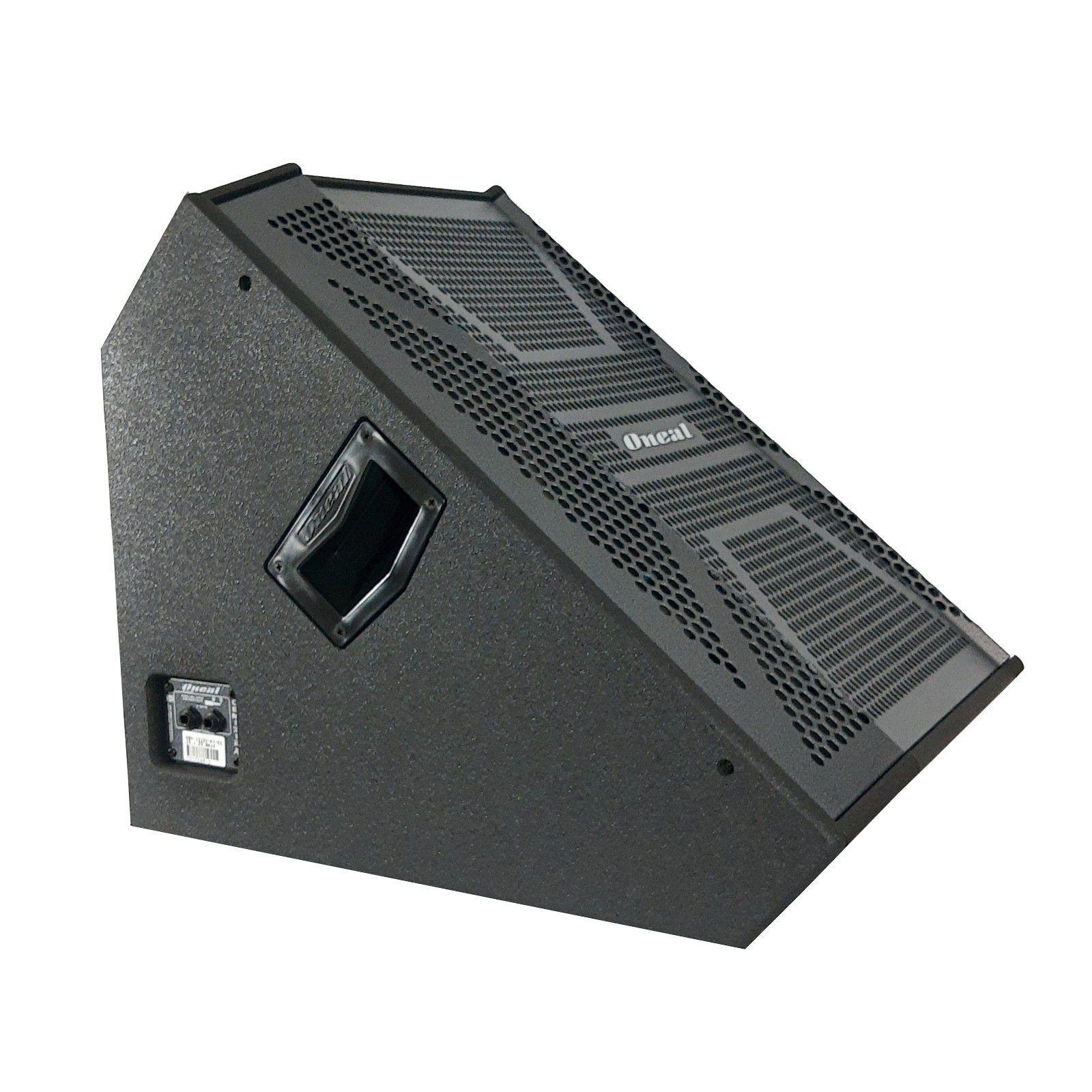 Kit Monitor Palco Ativo Passivo Oneal Opm1312x Obm1312x 200w Rms