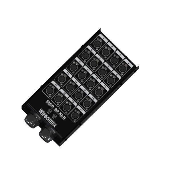 Medusa Wireconex 20 Vias Xlr Med2 20 2Sncc Completa