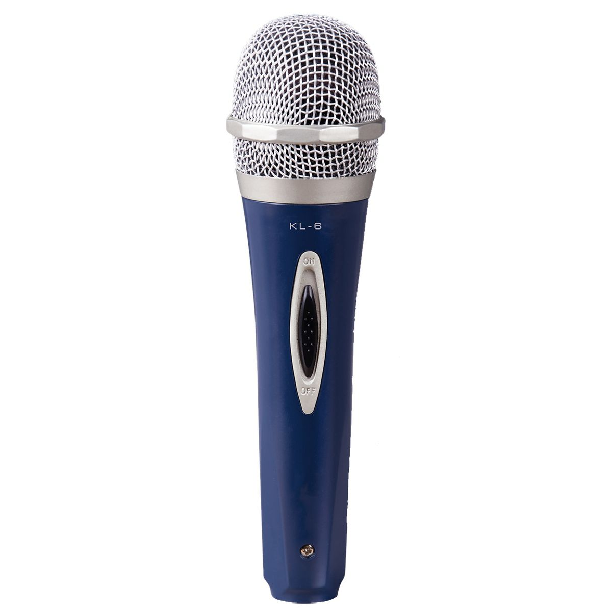Microfone De Mao Com Fio Vokal Kl6