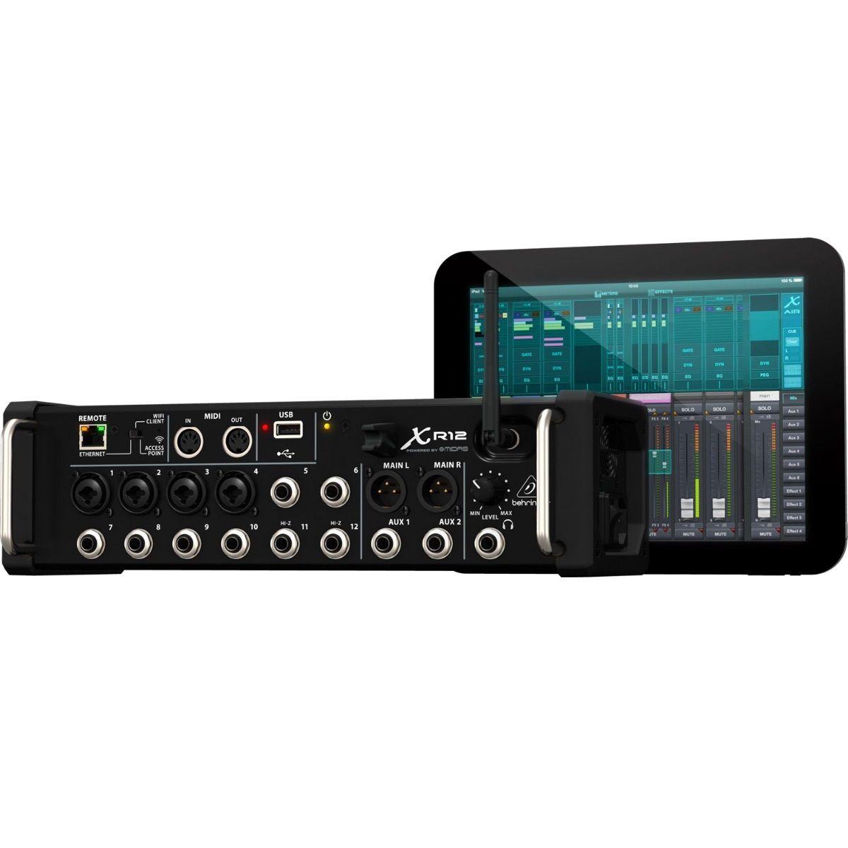 Mixer Digital Behringer Xr12