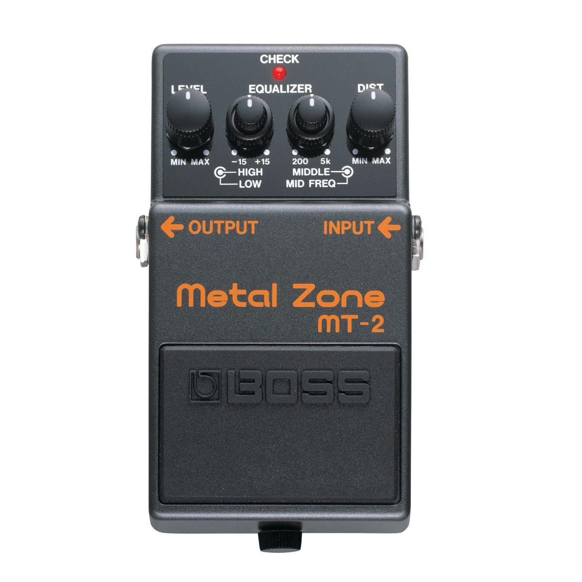 Pedal De Efeito Boss Para Guitarra Mt2