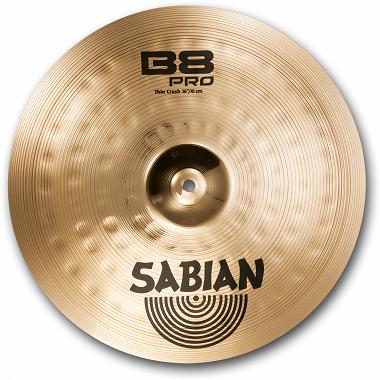Prato Sabian Ataque 16 Pro Thin Crash B8 Pro 1606