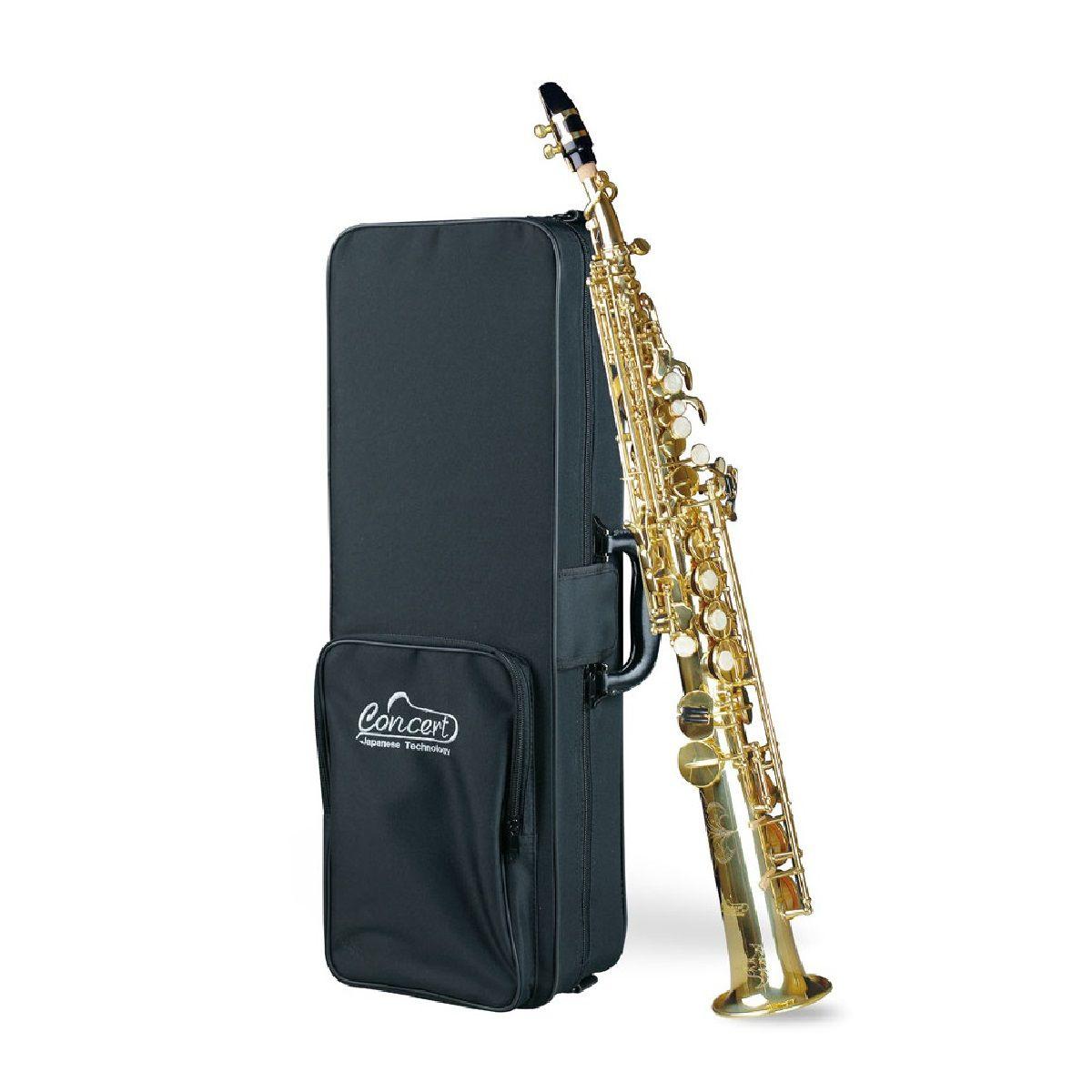 Saxofone Soprano Concert Css650 Com Estojo