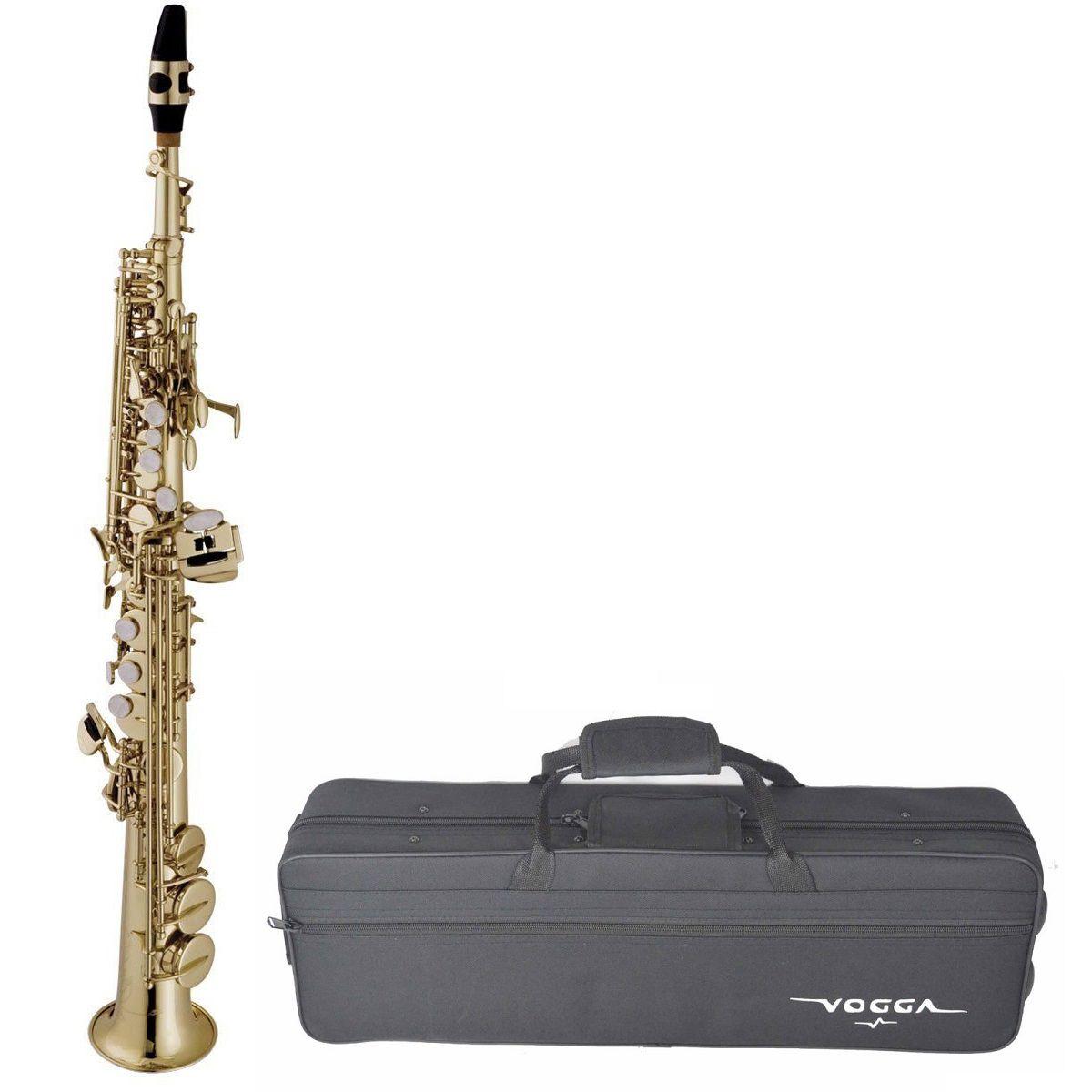 Saxofone Soprano Vogga Vssp701N