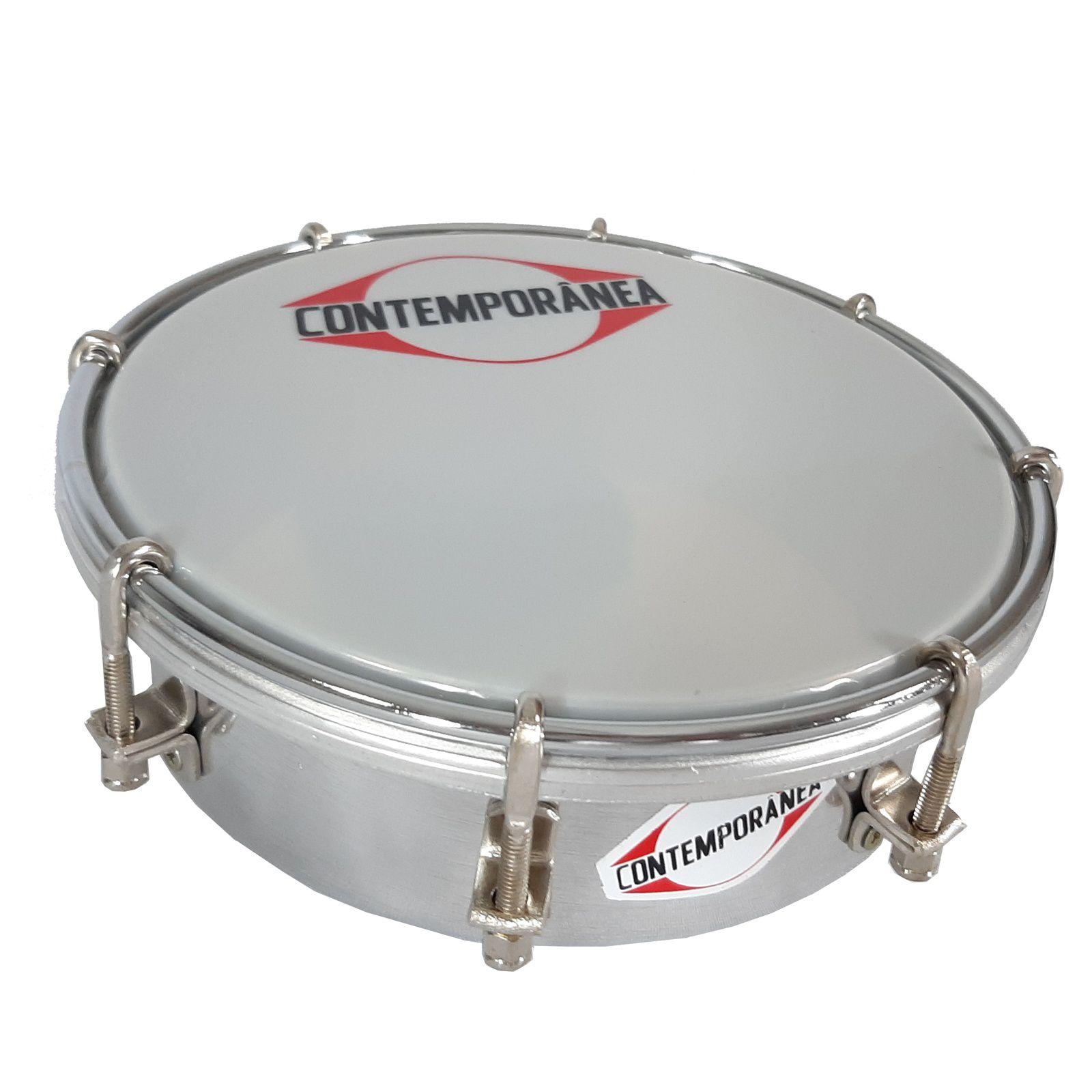 Tamborim Contemporanea Light 206Lt Aluminio 06