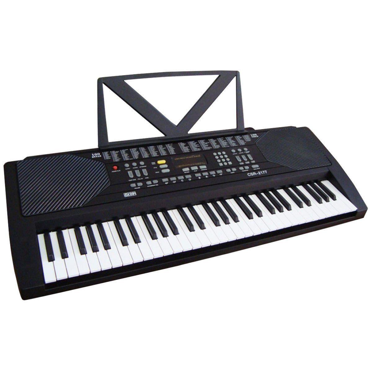 Teclado Musical 5/8 Csr 2177 61 Teclas