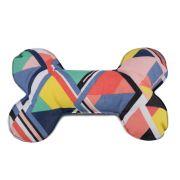 Brinquedo Osso Almofada Pet Para Cachorro - Candy