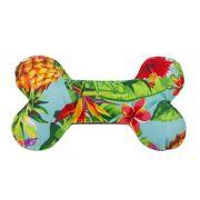 Brinquedo Oss Almofada Pet Para Cachorro - Tropical