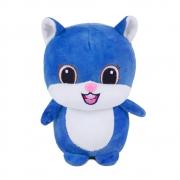 Brinquedo para Cachorro Pelúcia Castor Azul